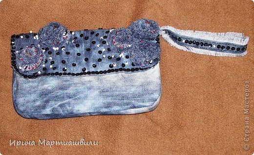 Переделка джинсов в кладч №2 фото 1