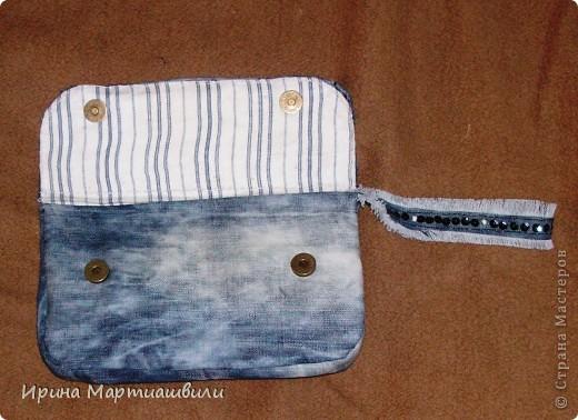 Переделка джинсов в кладч №2 фото 3