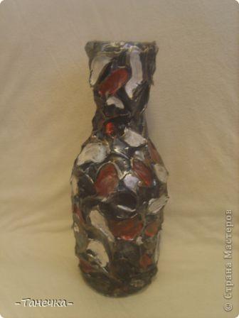 """Такая вот у меня """"лапчатая"""" ваза-бутылка!  фото 1"""