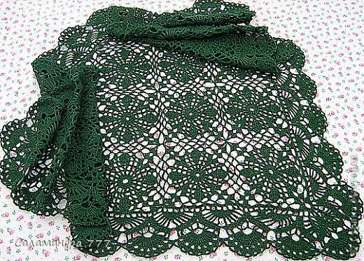 Связался такой-шарфик-косынка для мамочки! фото 8