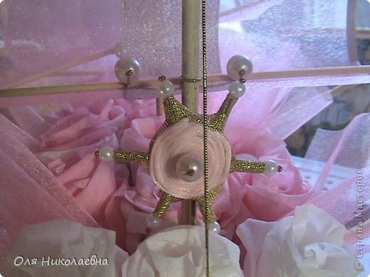 Вот такой долгострой у меня построился.Сладкий подарок на свадьбу племянницы.Дальше продемонстрирую корабль во всех ракурсах. фото 12