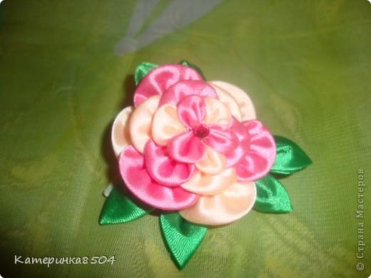 Мои цветочки. Я попробовала делать новые лепестки. Мне они очень нравятся. Путём проб всё-таки получились плоские и круглые!  фото 2