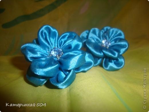 Мои цветочки. Я попробовала делать новые лепестки. Мне они очень нравятся. Путём проб всё-таки получились плоские и круглые!  фото 3