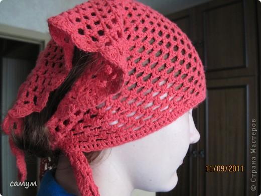 """берет """"Шалун"""", берет+шарф,косынка. фото 7"""