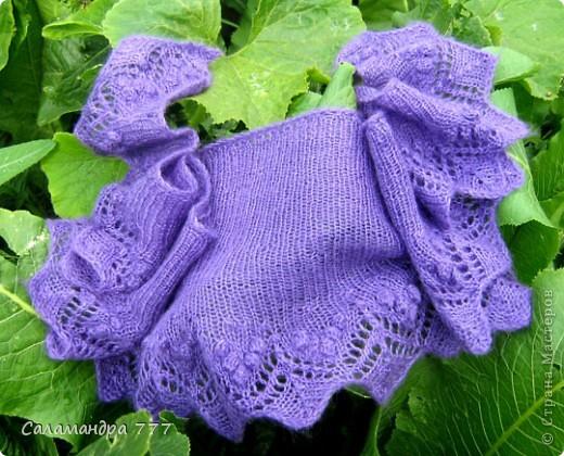 Связался такой-шарфик-косынка для мамочки! фото 15