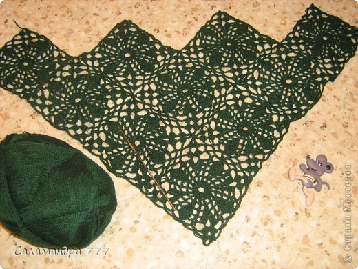Связался такой-шарфик-косынка для мамочки! фото 5