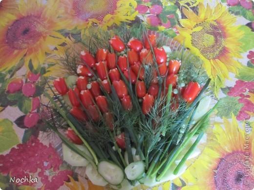 Моему отцу исполнилось 50, для празничного стола приготовили такую красоту. Спасибо алисачка за МК: http://stranamasterov.ru/node/169897?c=favorite фото 1