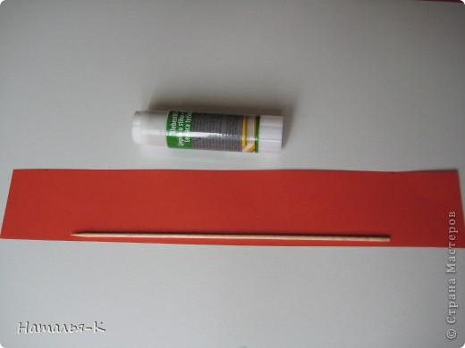 Рамочка из бумажных трубочек.  фото 3