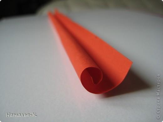 Рамочка из бумажных трубочек.  фото 6