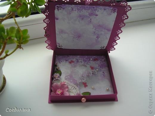 Делала коробочку по МК Pypsik http://stranamasterov.ru/node/94427 вот и он, спасибо Вам огромное!!!!!!! фото 3
