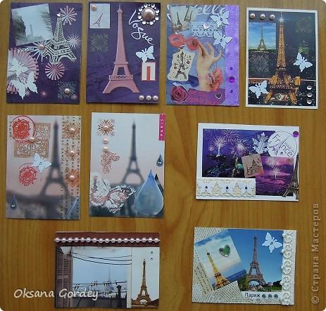 Еще одна серия о Париже. С Эйфелевыми башнями. Может и не последняя о Париже, о Франции, о Провансе... Люблю Эйфелевые башни. Это все они виноваты... Или она... фото 1