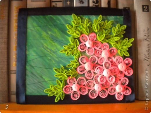 """Картина """"Розовая мечта, голубой дождь"""" фото 2"""