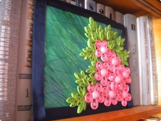 """Картина """"Розовая мечта, голубой дождь"""" фото 4"""