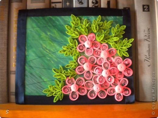 """Картина """"Розовая мечта, голубой дождь"""" фото 1"""