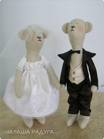 Свадебные мишки. фото 1