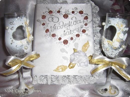Ну наконец-то, дошли ручёнки до декора свадебного альбома для предстоящей свадьбы сестренки. Интересно послушать мнения окружающих, может где-то, что-то не так? фото 7