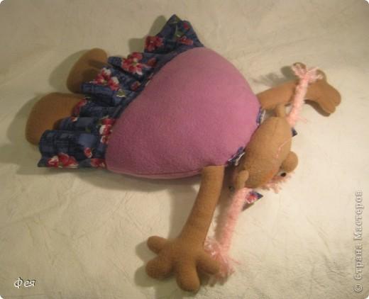 Скоро моей крёстной дочке исполняется 4 годика, вот такую Девчушку- подушку сшила ей в подарок:) фото 3