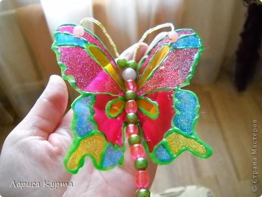 Наделала бабочек, пока без украс. фото 2