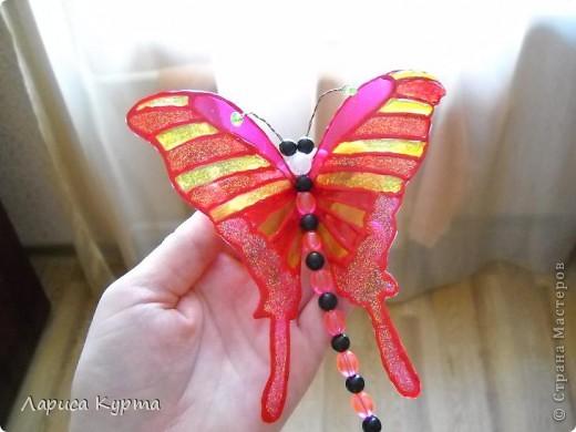 Наделала бабочек, пока без украс. фото 3