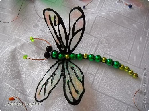 Наделала бабочек, пока без украс. фото 6