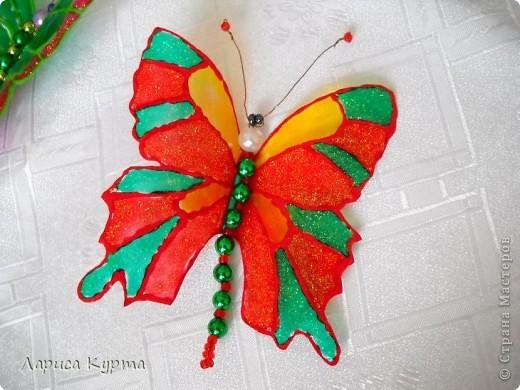 Наделала бабочек, пока без украс. фото 7