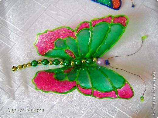 Наделала бабочек, пока без украс. фото 9