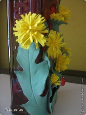 """У сына первый месяц после свадьбы))) говорят, что это """"Зеленая савадьба"""" решила, что одуванчики самое то для этой даты)). фото 4"""