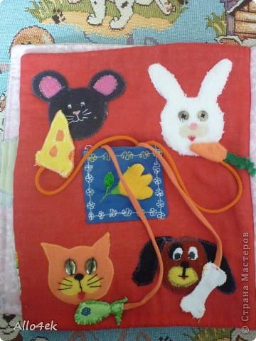 Мягкая книжечка для сыночка. фото 4