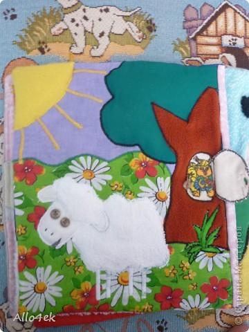 Мягкая книжечка для сыночка. фото 7
