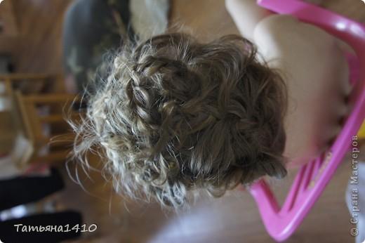 Прическа из косичек фото 3