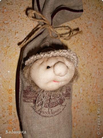 Обереговые куколки-саше. Наполнены тимьяном и душицей. Их можно повесить на стену или в шкаф. Они  всю зиму хранят запахи лета. А также будет с кем посоветоваться, что одеть сегодня.  фото 5