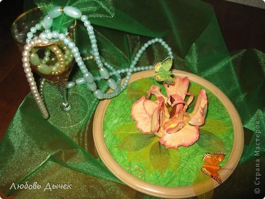 Цветок на счастье.Работа выполнена из косточек рыбы толстолобика. фото 10