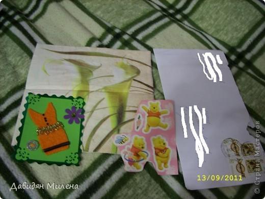 УРАА!!! сегодня 13. 09. 2011 у моей бабушки день рождения!!!! Я сделала ей открытку. . фото 6
