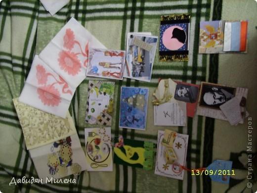 УРАА!!! сегодня 13. 09. 2011 у моей бабушки день рождения!!!! Я сделала ей открытку. . фото 7