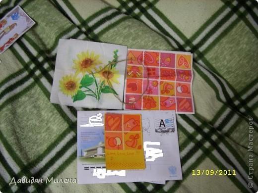 УРАА!!! сегодня 13. 09. 2011 у моей бабушки день рождения!!!! Я сделала ей открытку. . фото 8