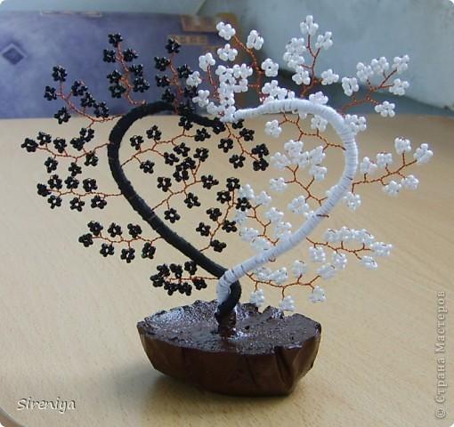 """Теперь и у меня есть """"Сердечное деревце"""", спасибо мастерицам за МК и идею! фото 3"""
