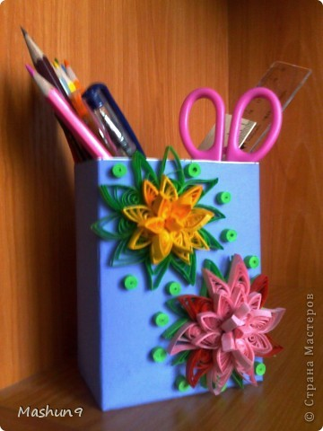 Цветочная подставка для ручек фото 1
