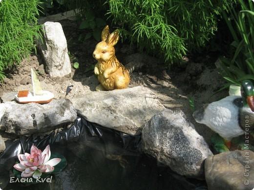 Каменистая горка перед домиком фото 16