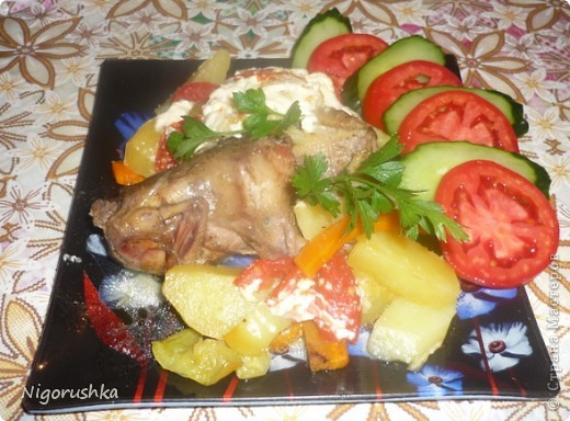 Уважаемые форумчане, предлагаю вашему вниманию вкусное и полезное блюдо из дикой перепелки!  фото 1