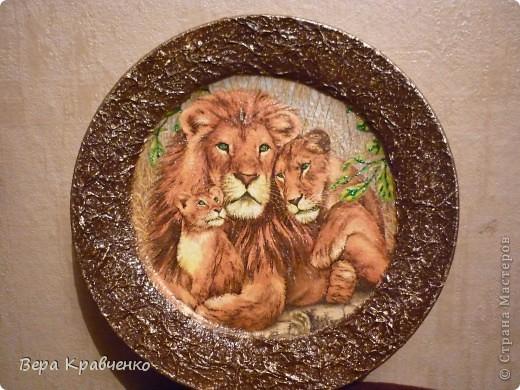 Вот такую тарелочку с левиками заказали мне! фото 1