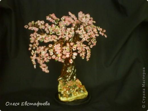Моё первое бисерное дерево. фото 2
