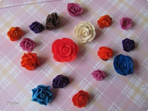 Буду вести кружок для девчонок в школе. Вот училась делать разные цветочки. Очень захватил меня этот процесс. Правда кроме шоколадных цветочков, остальные пока никуда не применила.  фото 5