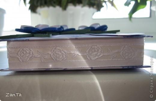 Вот такая коробочка родилась у меня в подарок прекрасной паре, у которой завтра один из самых счастливых дней - ДЕНЬ СВАДЬБЫ!!! фото 3
