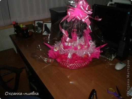"""Подарок маме на День Рождения - корабль """"Счастья"""" из конфет фото 3"""