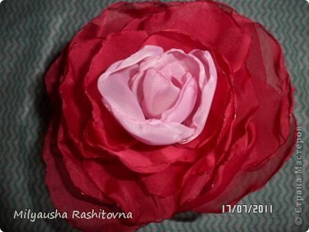 Самые любимые цветы. Ими я украсила одну из моих шкатулок. фото 2