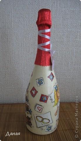 Бутылка делалась на юбилей свадьбы... фото 5