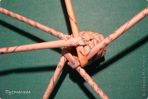 """Пришли ко мне на мастер-класс мама с ребёнком. Пока мама осваивала плетение верёвочкой, ребёнок скрутил две трубочки и спрашивает: """"А что можно сделать из них?"""" Я тогда не смогла ответить. Вот теперь знаю... фото 27"""