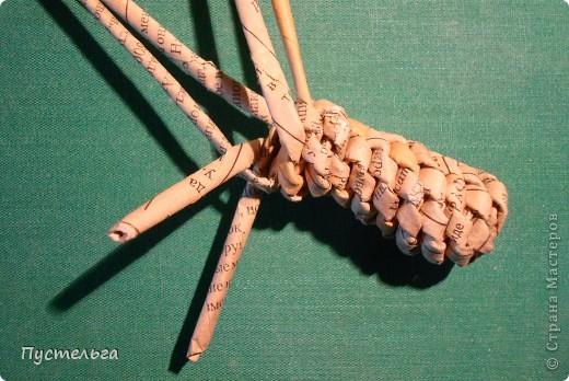 """Пришли ко мне на мастер-класс мама с ребёнком. Пока мама осваивала плетение верёвочкой, ребёнок скрутил две трубочки и спрашивает: """"А что можно сделать из них?"""" Я тогда не смогла ответить. Вот теперь знаю... фото 28"""