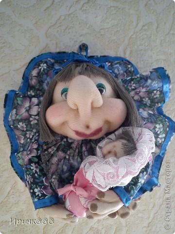 кукла-попик- подарок моей младшей сестренке фото 1