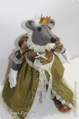 Вот и пара Крысу Принцу сегодня появилась. Прошу приветствовать её королевское Высочество --- Королеву Крыс!!!!!! фото 1